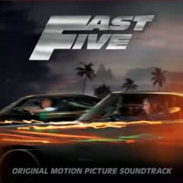 Обложка к диску с музыкой из фильма «Форсаж 5»