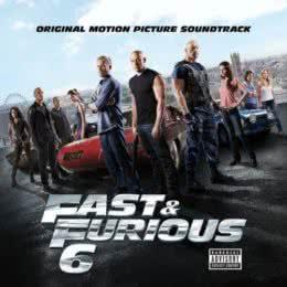 Обложка к диску с музыкой из фильма «Форсаж 6»