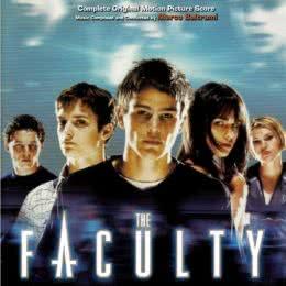 Обложка к диску с музыкой из фильма «Факультет»