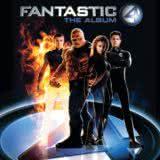 Маленькая обложка диска с музыкой из фильма «Фантастическая четверка»