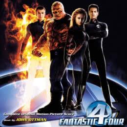 Обложка к диску с музыкой из фильма «Фантастическая четверка»