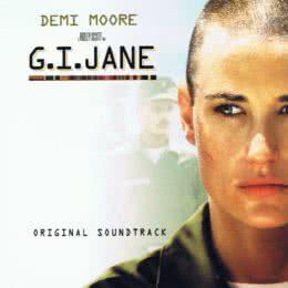 Обложка к диску с музыкой из фильма «Солдат Джейн»