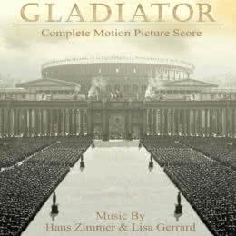 Обложка к диску с музыкой из фильма «Гладиатор»