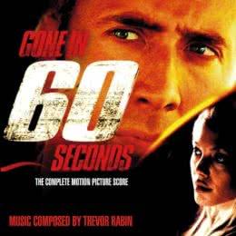 Обложка к диску с музыкой из фильма «Угнать за 60 секунд»