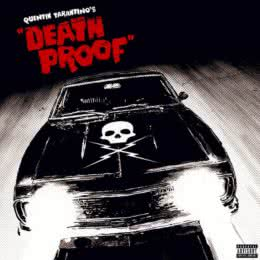 Обложка к диску с музыкой из фильма «Грайндхаус: Доказательство смерти»