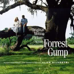 Обложка к диску с музыкой из фильма «Форрест Гамп»
