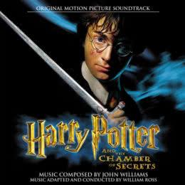 Обложка к диску с музыкой из фильма «Гарри Поттер и тайная комната»