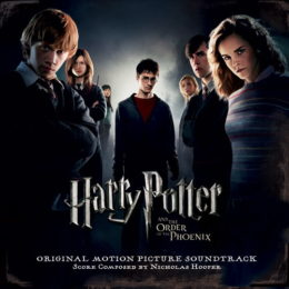 Обложка к диску с музыкой из фильма «Гарри Поттер и Орден Феникса»