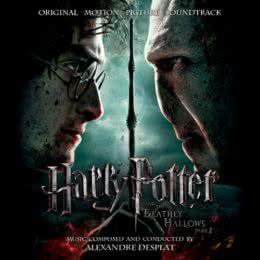 Обложка к диску с музыкой из фильма «Гарри Поттер и Дары Смерти. Часть 2»