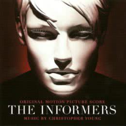 Обложка к диску с музыкой из фильма «Информаторы»