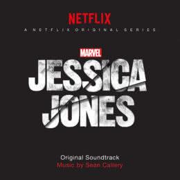 Обложка к диску с музыкой из сериала «Джессика Джонс (1 сезон)»