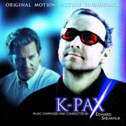 Обложка к диску с музыкой из фильма «Планета Ка-Пэкс»
