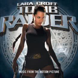 Обложка к диску с музыкой из фильма «Лара Крофт: Расхитительница гробниц»