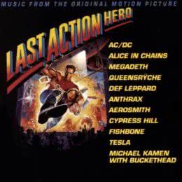 Обложка к диску с музыкой из фильма «Последний киногерой»