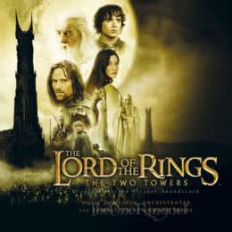 Обложка к диску с музыкой из фильма «Властелин колец: Две крепости»