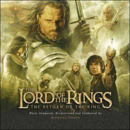 Обложка к диску с музыкой из фильма «Властелин колец: Возвращение короля»