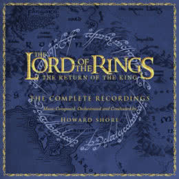 Обложка к диску с музыкой из фильма «Властелин колец: Возвращение короля (Complete Recordings)»