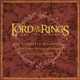 Обложка к диску с музыкой из фильма «Властелин колец: Две крепости (Complete Recordings)»