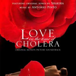 Обложка к диску с музыкой из фильма «Любовь во время холеры»