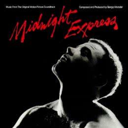 Обложка к диску с музыкой из фильма «Полуночный экспресс»