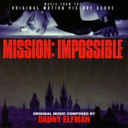 Обложка к диску с музыкой из фильма «Миссия невыполнима»