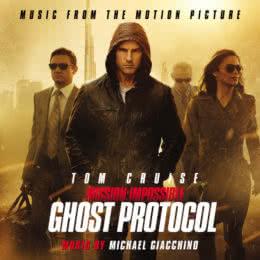 Обложка к диску с музыкой из фильма «Миссия невыполнима: Протокол Фантом»