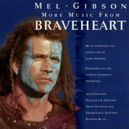 Обложка к диску с музыкой из фильма «Храброе сердце»
