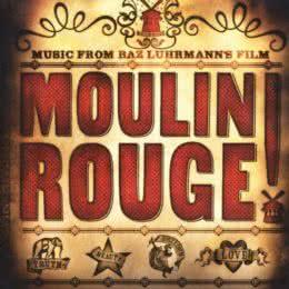 Обложка к диску с музыкой из фильма «Мулен Руж»
