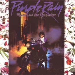 Обложка к диску с музыкой из фильма «Пурпурный дождь»