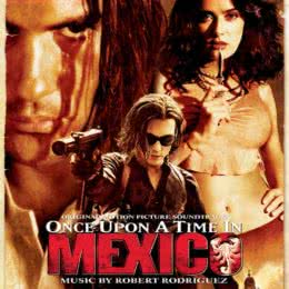 Обложка к диску с музыкой из фильма «Однажды в Мексике»