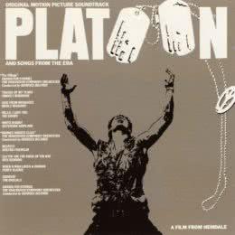 Обложка к диску с музыкой из фильма «Взвод»