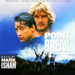 Обложка к диску с музыкой из фильма «На гребне волны»