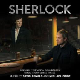 Обложка к диску с музыкой из сериала «Шерлок (3 сезон)»