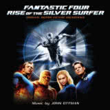 Маленькая обложка диска c музыкой из фильма «Фантастическая четверка: Вторжение Серебряного серфера»