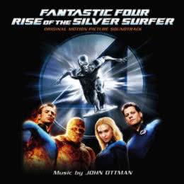 Обложка к диску с музыкой из фильма «Фантастическая четверка: Вторжение Серебряного серфера»