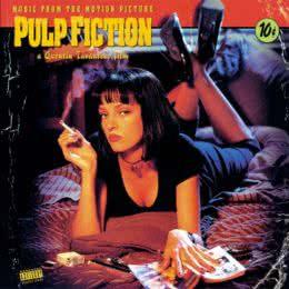 Обложка к диску с музыкой из фильма «Криминальное чтиво»