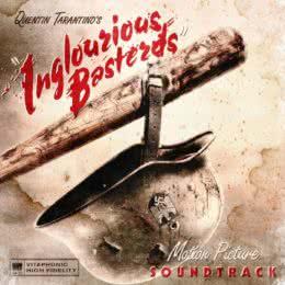 Обложка к диску с музыкой из фильма «Бесславные ублюдки»