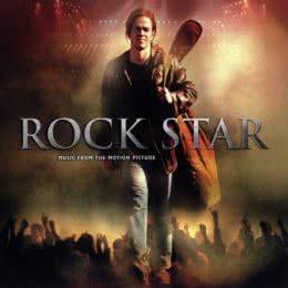 Обложка к диску с музыкой из фильма «Рок-звезда»