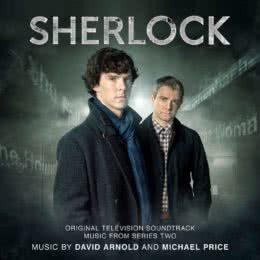 Обложка к диску с музыкой из сериала «Шерлок (2 сезон)»