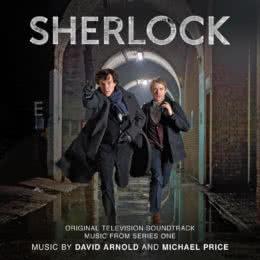 Обложка к диску с музыкой из сериала «Шерлок (1 сезон)»