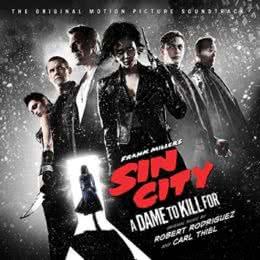 Обложка к диску с музыкой из фильма «Город грехов 2: Женщина, ради которой стоит убивать»