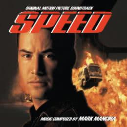 Обложка к диску с музыкой из фильма «Скорость»