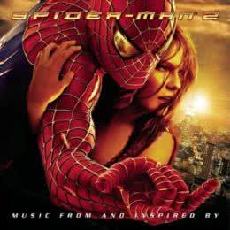 Обложка к диску с музыкой из фильма «Человек-паук 2»