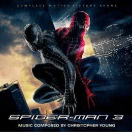 Обложка к диску с музыкой из фильма «Человек-паук 3: Враг в отражении»