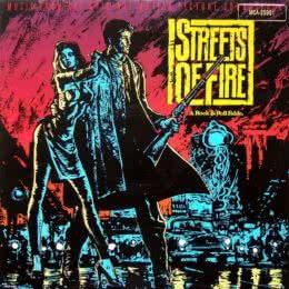 Обложка к диску с музыкой из фильма «Улицы в огне»