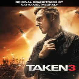 Обложка к диску с музыкой из фильма «Заложница 3»