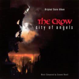 Обложка к диску с музыкой из фильма «Ворон 2: Город ангелов»