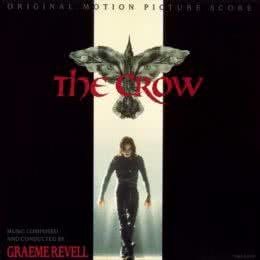 Обложка к диску с музыкой из фильма «Ворон»
