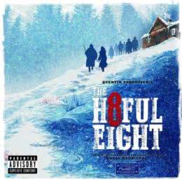 Обложка к диску с музыкой из фильма «Омерзительная восьмерка»