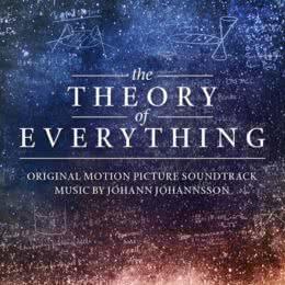 Обложка к диску с музыкой из фильма «Вселенная Стивена Хокинга»